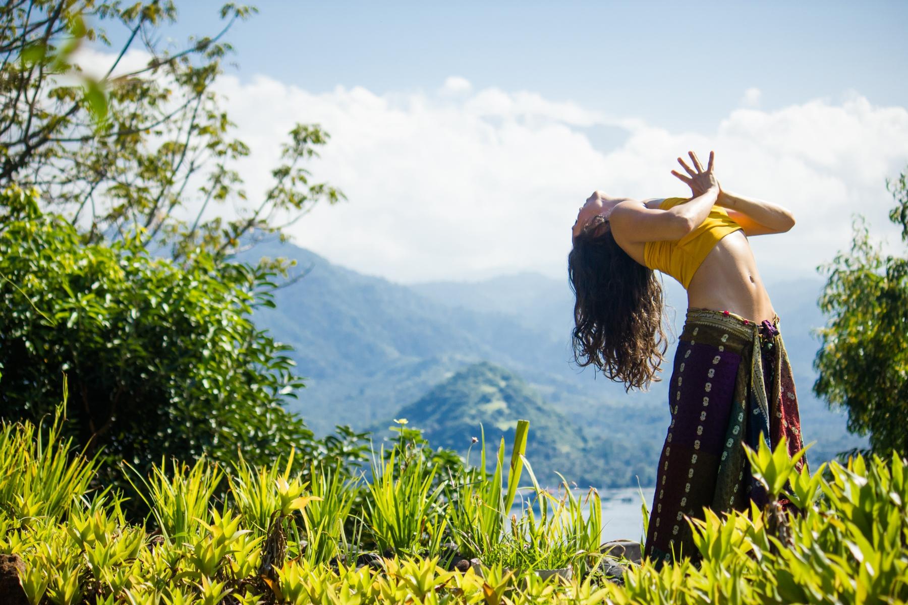 #Polly #Yoga Frog # Bali