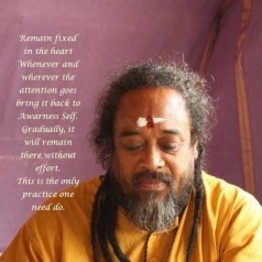 Mooji satsang meditation realization true self