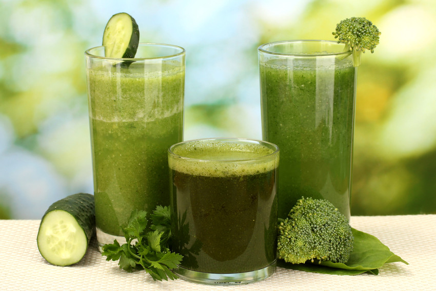 Green smoothies juice health detox