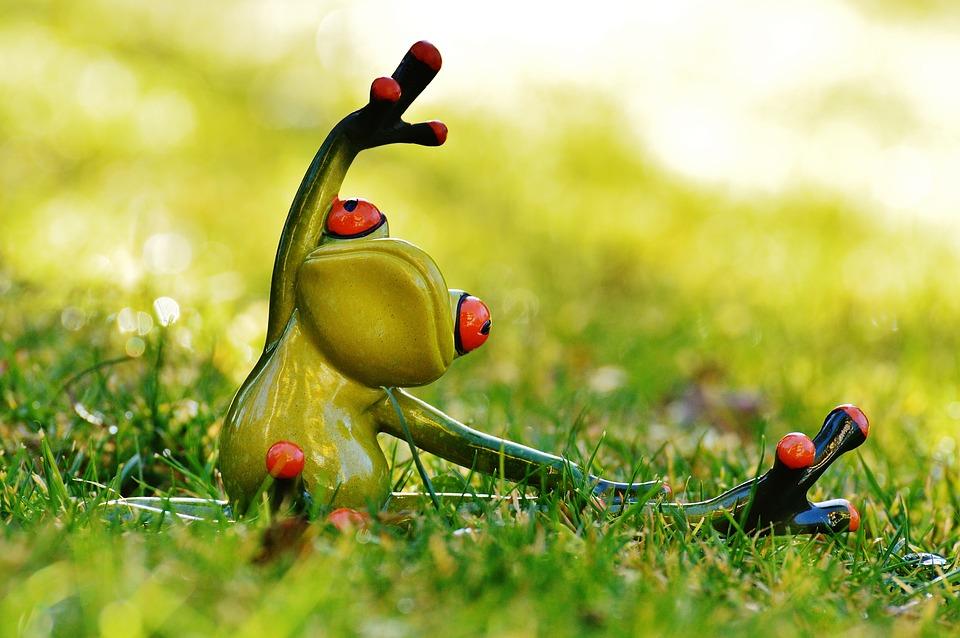 YOga Frog Hip Opening