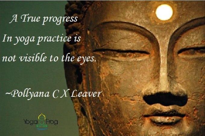 quote yoga pollyana yogafrog asanas teacher