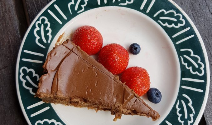 Raw Vegan Chocolate Mousse