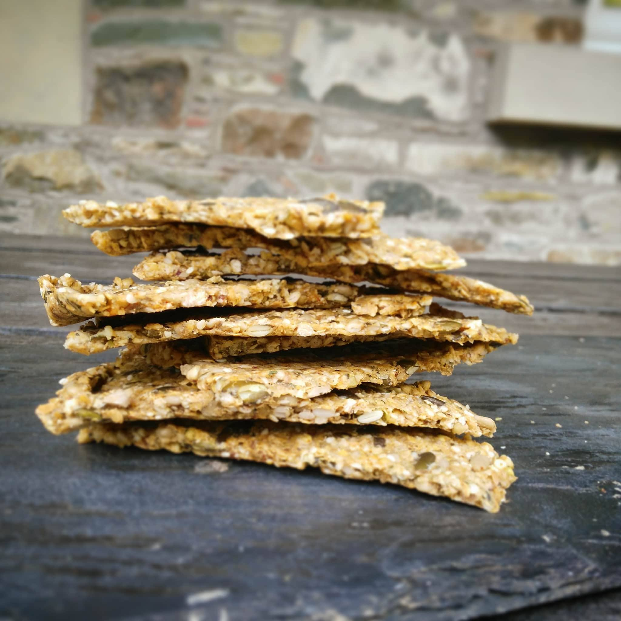 raw seed crackers healthy healthy lifestyle recipe seeds
