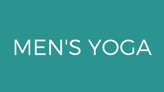 yoga men only session mindfulness